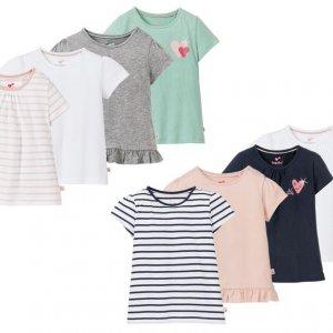 Hit cenowy - LUPILU® T-shirty dziewczęce, 4 sztuki